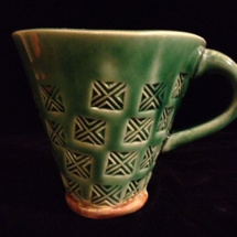 Triangle Mug - Green