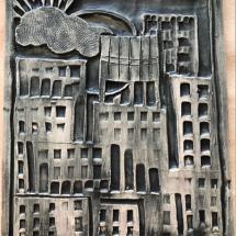 Cityscape Bas Relief