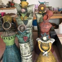 Feminine Sculpture Grouping 1